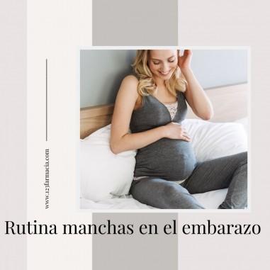 Rutina manchas en el embarazo
