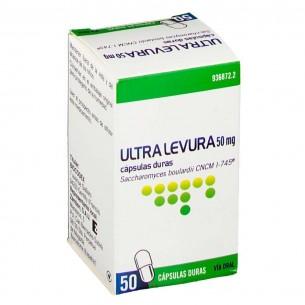 Ultra levura 50 mg 50 capsulas